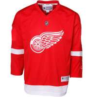 Reebok Child Detroit Red Wings Replica Home Jersey