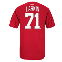 Reebok Detroit Red Wings Youth Red Dylan Larkin Player Name & Number Premier Tee |