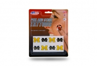 Rico Industries Michigan Wolverines 8-Piece Tattoo Set