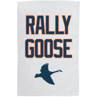 Motor City Bad Boys White Rally Goose Towel