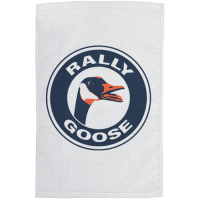 Motor City Bad Boys White Vintage Rally Goose Towel