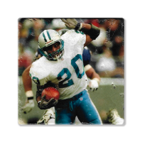 Second Story Barry Sanders Stone Tile Coaster