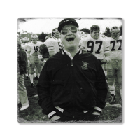 Second Story Bo Schembechler Stone Tile Coaster