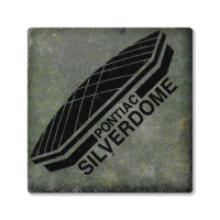 Second Story Silverdome Stone Tile Coaster