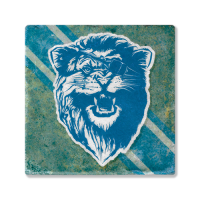 Second Story Motor City Bad Boys Lion Stone Tile Coaster