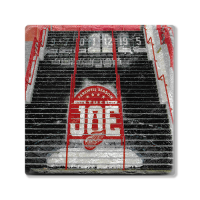 Second Story JLA Stairs Stone Tile Coaster
