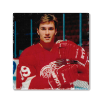 Second Story Steve Yzerman Tile Coaster