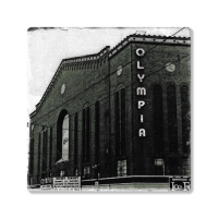Second Story Olympia Stadium Stone Tile Coaster