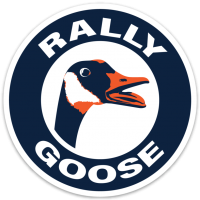 Motor City Bad Boys Vintage Rally Goose Vinyl Decal