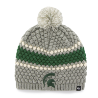 47 Brand Michigan State Spartans Women's Gray Leslie Knit Beanie