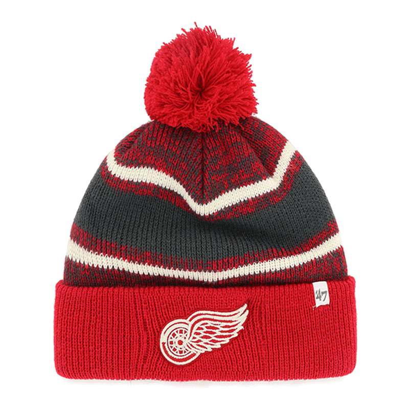1e5791be 47 Brand Detroit Red Wings Red Fairfax Cuff Knit
