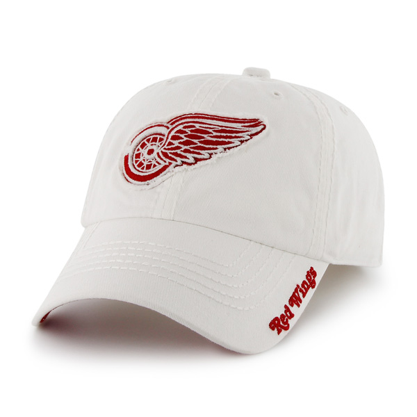 outlet store sale 09f63 a774f 47 Brand Men s Detroit Red Wings White Winthrop Franchise Fitted Hat